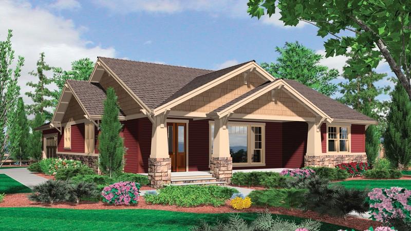 Cottage House Plan 1154 The Ellington  Beds