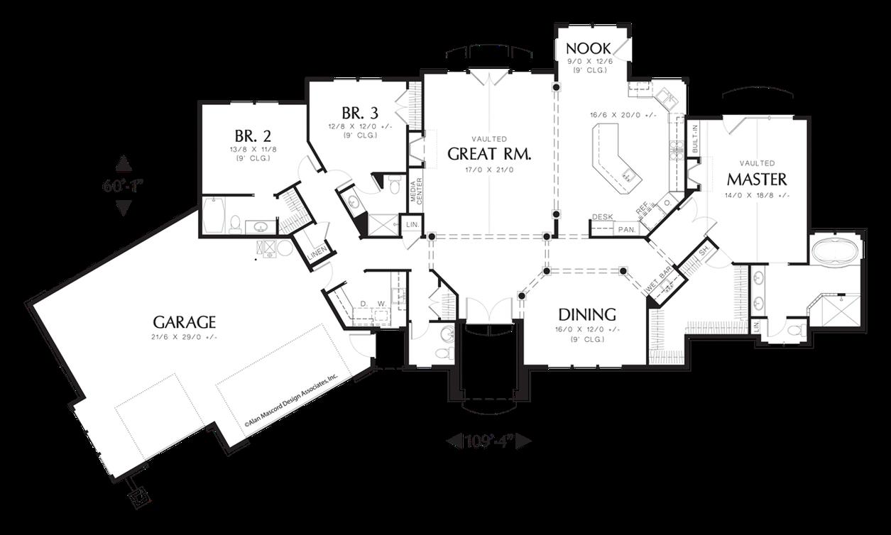House plan 1225 the hayden for Hayden homes floor plans