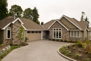 Front Exterior of Mascord House Plan 1234B - The Harriet