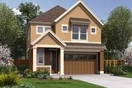 Front Rendering of Mascord House Plan 21136B - The Waldsport