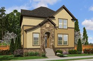 Front Rendering of Mascord House Plan 21139 - The Hilldale