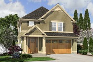 Front Rendering of Mascord House Plan 2174WH - The Tyne