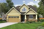 Front Rendering of Mascord House Plan 2185AC - The Nehalem