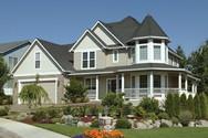 Front Exterior of Mascord House Plan 22128 - The Kensington