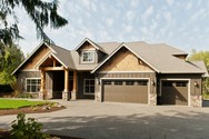 Front Exterior of Mascord House Plan 22157AA - The Ashby