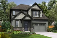 Front Rendering of Mascord House Plan 22200A - The Yaquina