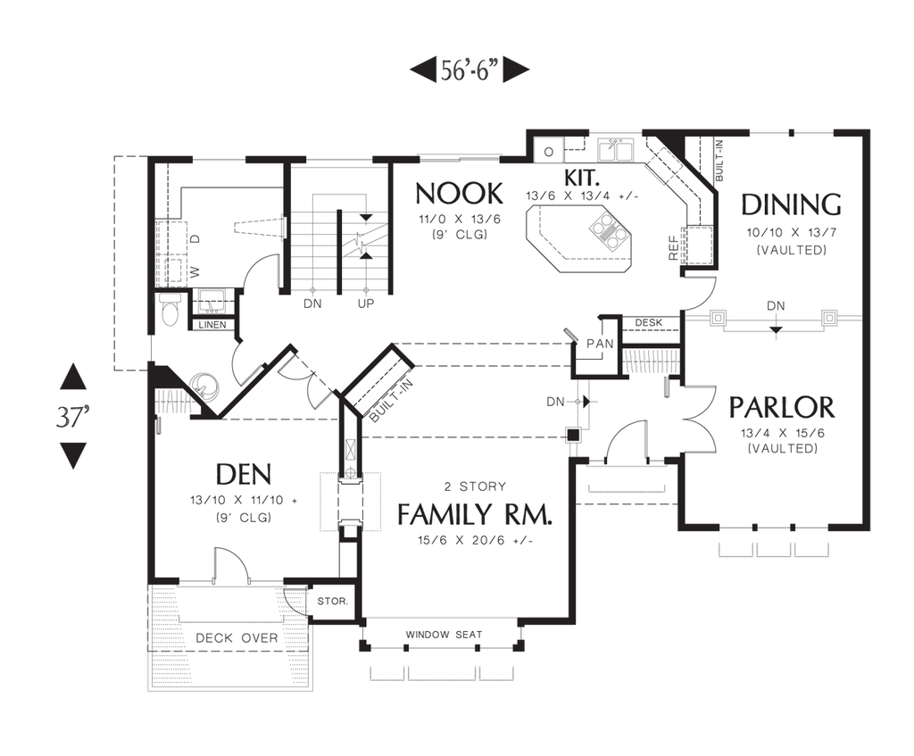 Fairmont floor plan house plan 2263dc the fairmont for 100 floors floor 41