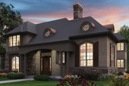 Front Rendering of Mascord House Plan 2380 - The Lisette