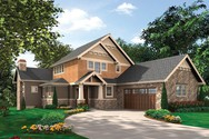 Front Rendering of Mascord House Plan 2387 - The Iverson