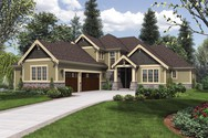 Front Rendering of Mascord House Plan 2396 - The Vidabelo