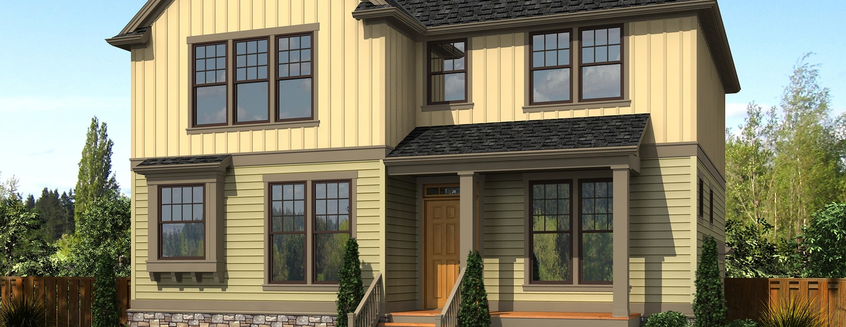 Traditional Craftsman House Plan Of The Week The Bracken Bank