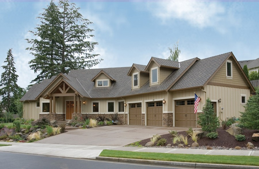 House plan the halstad craftsman home plan with generous kitchen more Craftsman home plans