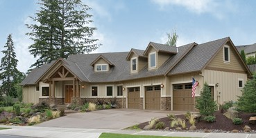 22156 The Halstad Craftsman House Plan  | House Plan of the Week | The Halstad: Craftsman Home Plan with Generous Kitchen & More