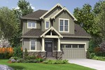 Plan 22200B The Willowcreek Craftsman Home Plan  | The Willowcreek - Narrow Craftsman Home That Lives Large