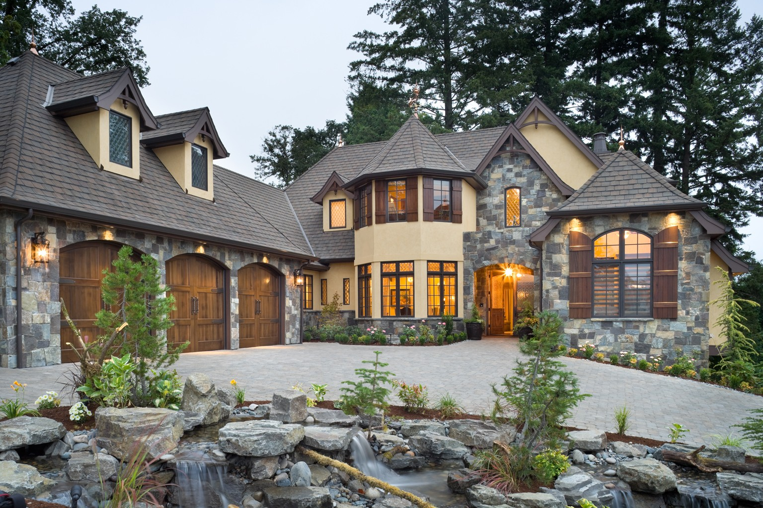 39 rivendell manor 39 by bc custom homes represents mascord 39 s for Building our dream home blog