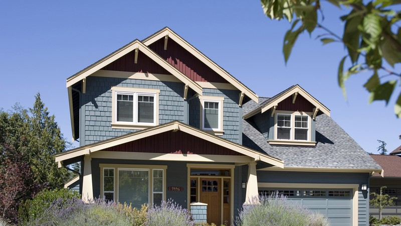 Craftsman Home Plans 2164A The Malone