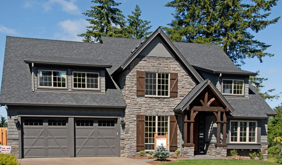 20 gorgeous craftsman home plan designs for Cedar shake home plans