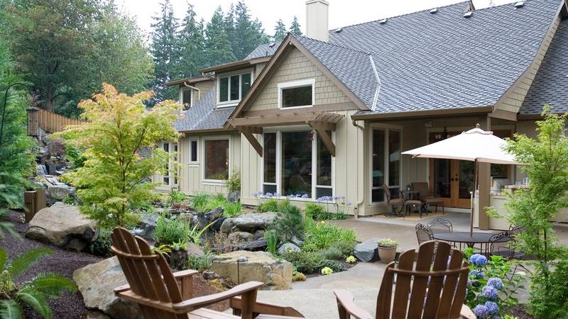 Lodge-style Craftsman House Plans 22156 u2013 The Halstad & 20 Home Plans with a Great Indoor/Outdoor Connection