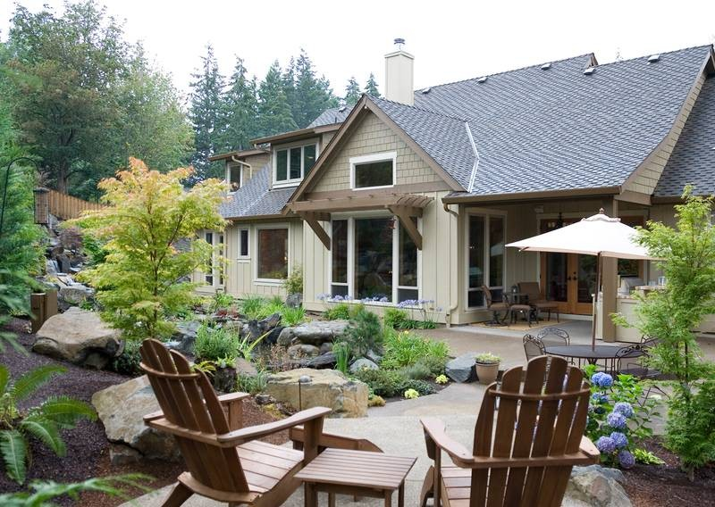 Craftsman style patio homes Home style