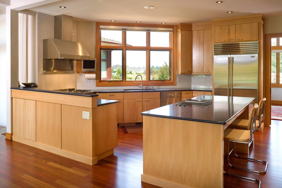 25 home plans with dream kitchen designs for Colorado custom home designs