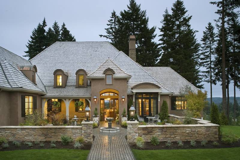 French country design photos of exterior elevations joy French country home plans