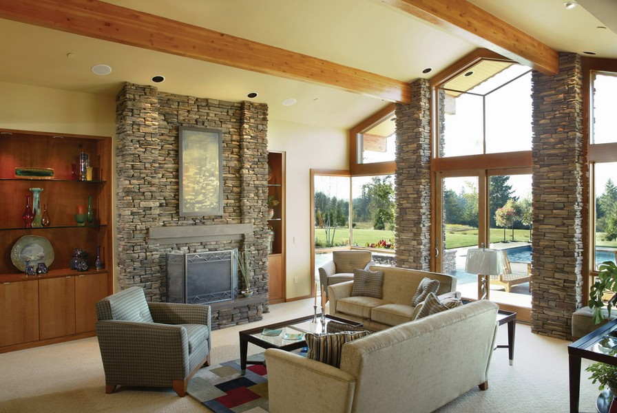 Fabulous Contemporary House Plans With Warm Inviting Interiors Largest Home Design Picture Inspirations Pitcheantrous