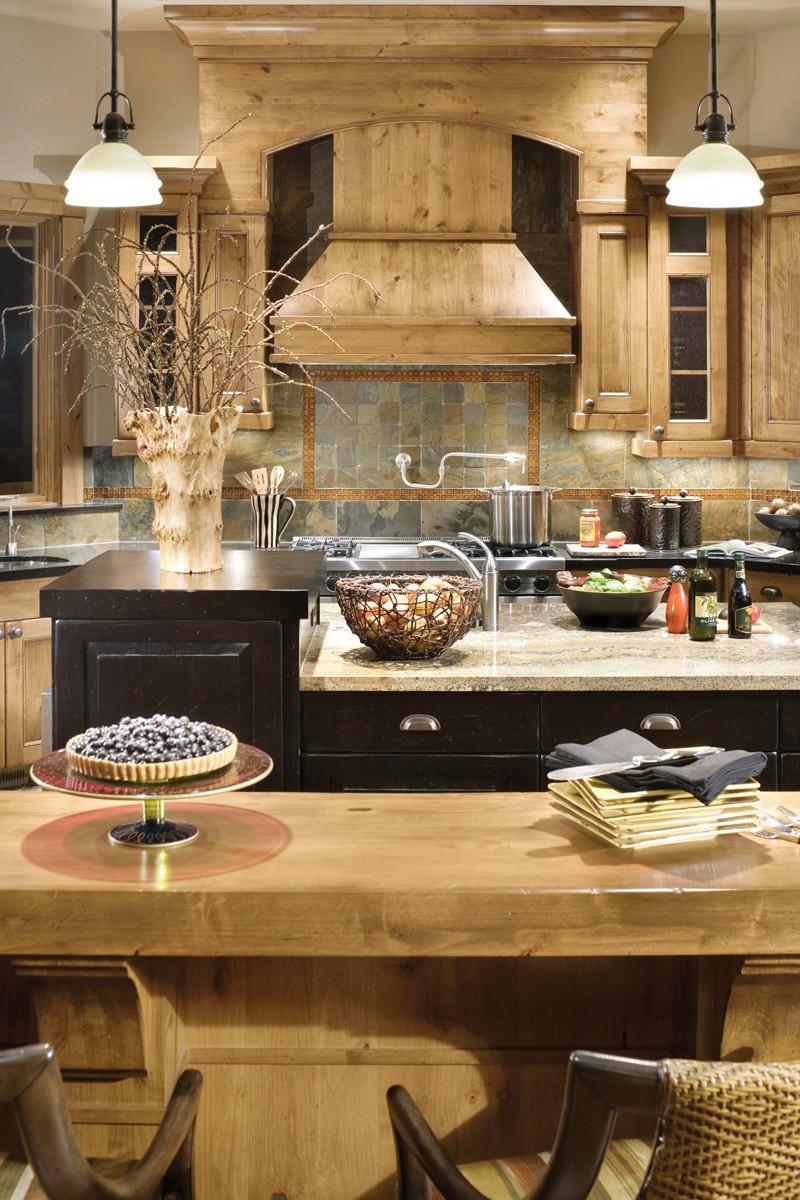 Craftsman/Lodge House Plan 1411D - The Timbersedge
