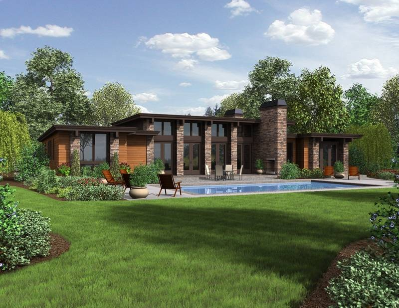 The Hampton Home Plan 1240 Boasts An Amazing Outdoor Patio Just