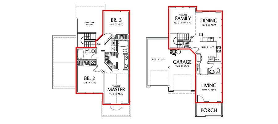 How to measure square footage on floor plans gurus floor for Find sq footage