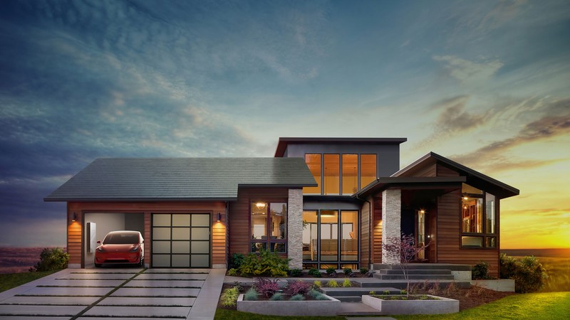 Tesla Features Mascord Plan 1410 In Solar Roof Announcement