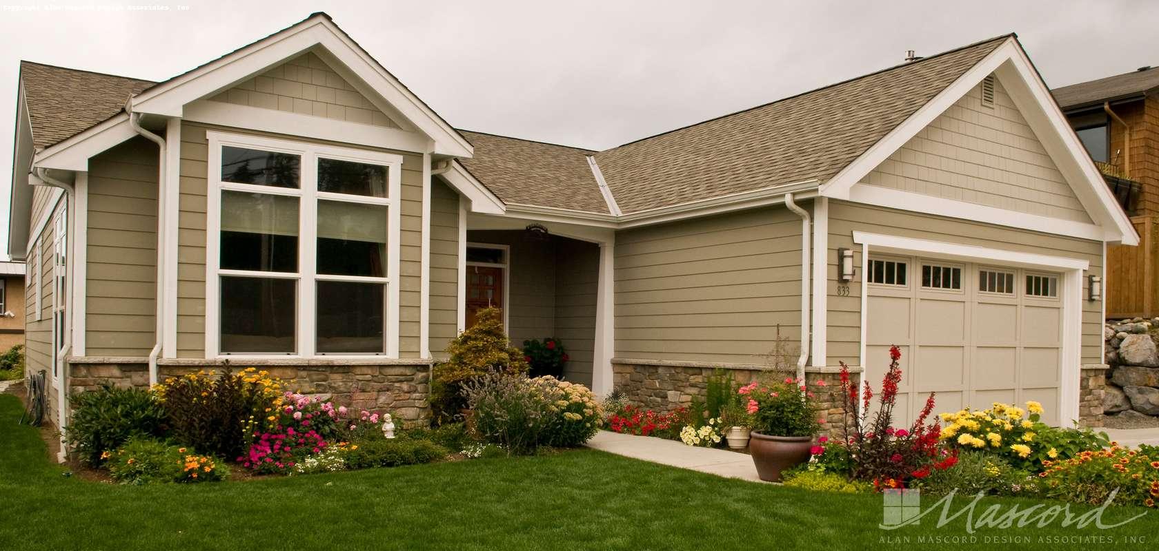 Mascord House Plan B1103BA: The Granville