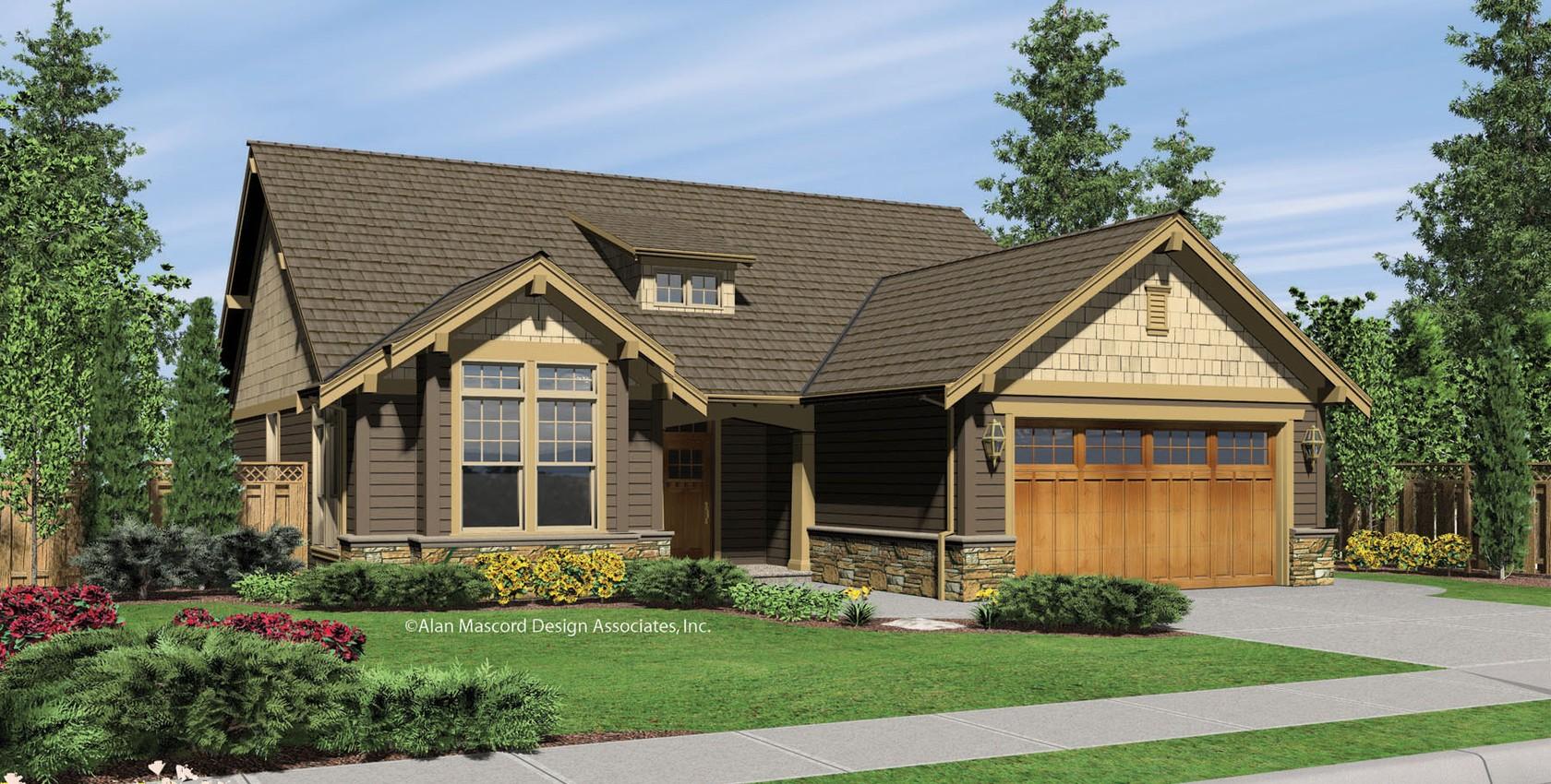 Image for Granville-Craftsman Style Cottage Plan-11