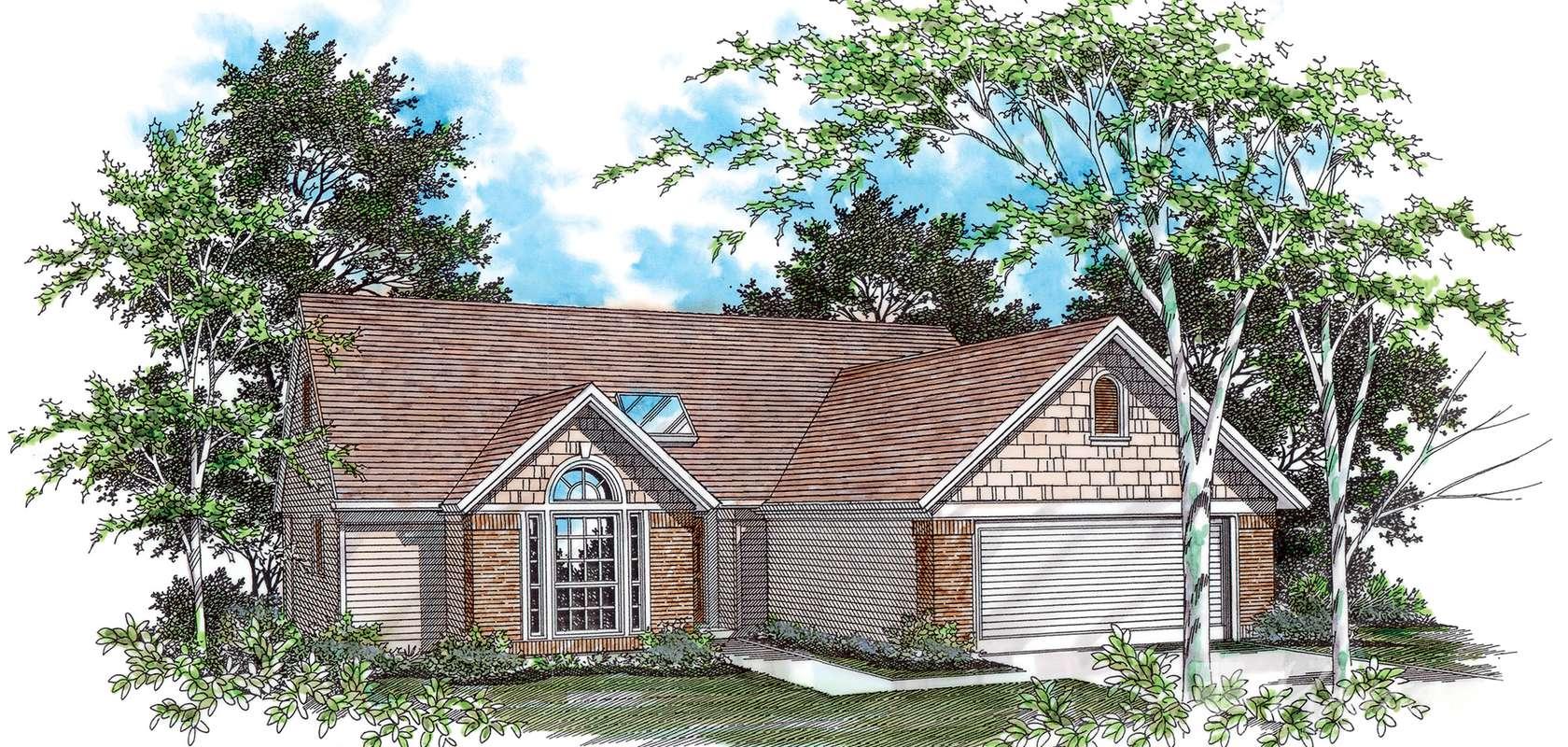 Mascord House Plan 1106A: The Harrigans
