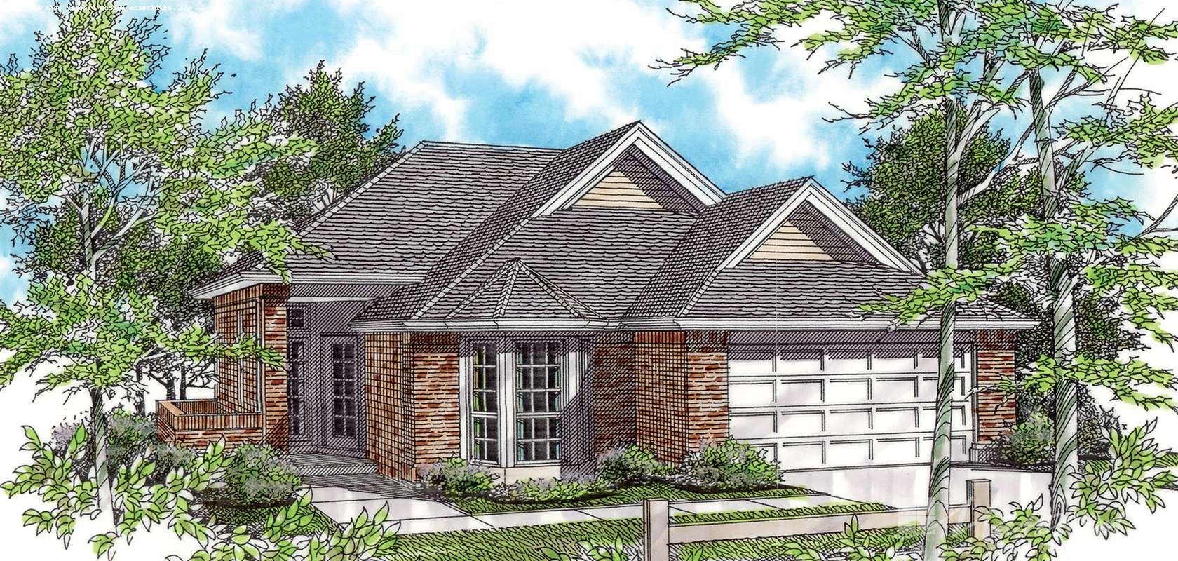 Mascord House Plan 1108A: The Naylor