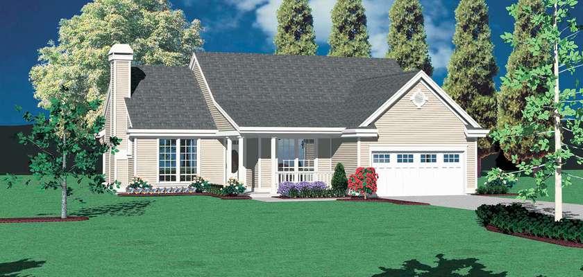 Mascord House Plan 1112: The Ashbury