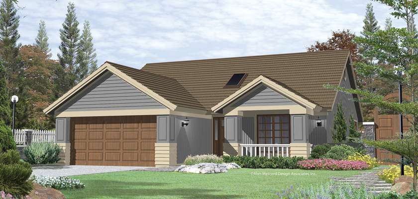 Mascord House Plan 1132: The Russell