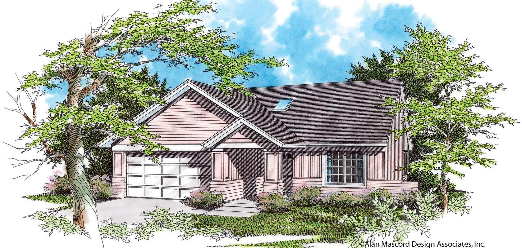Mascord House Plan 1132A: The Rheingold