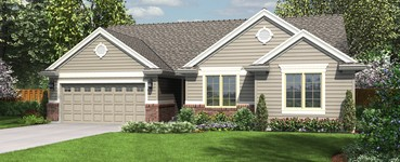 The Patmore Small Home Plan: Plan 1135  | The Patmore: 3 Bedrooms & Vaulted Ceilings Redefine Small House Plans