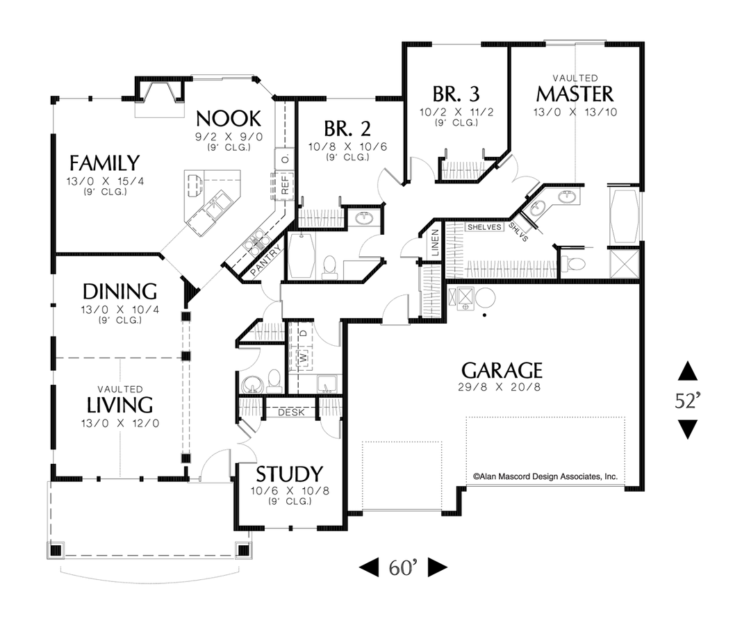 Craftsman house plan 1139 the aiden 1999 sqft 3 bedrooms for 3 rooms for 1999