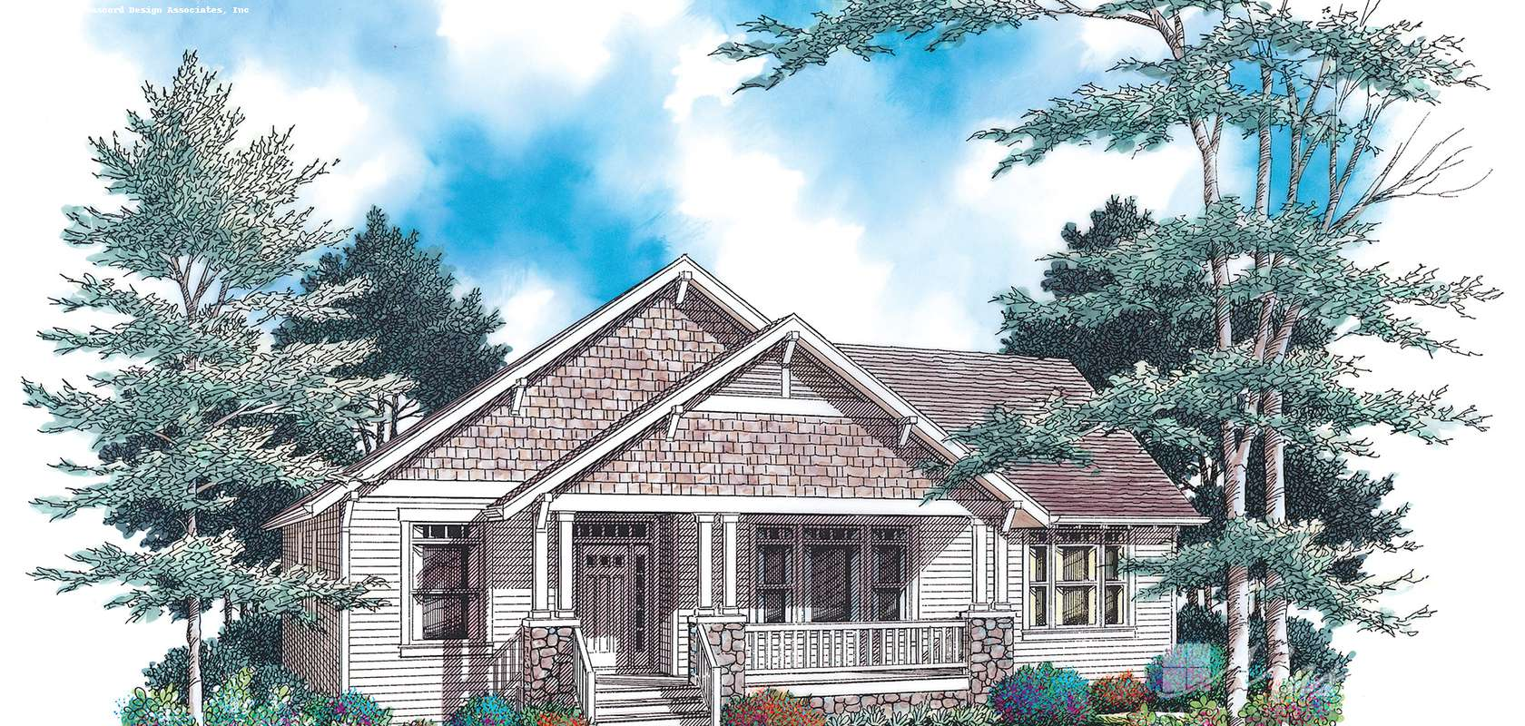Mascord House Plan 1142A: The Glenhaven
