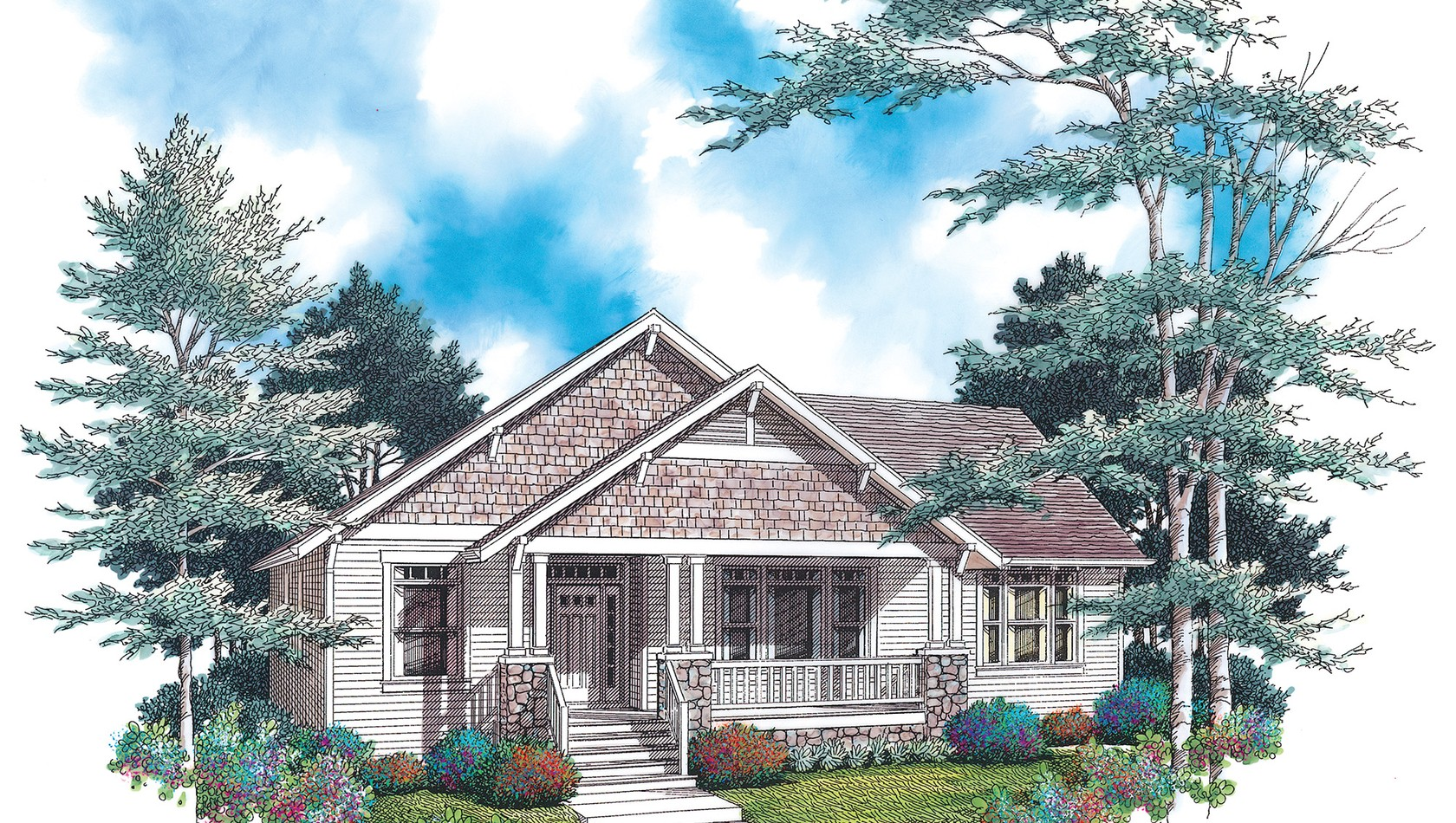 Main image for house plan 1142A: The Glenhaven