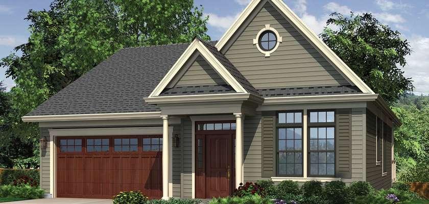 Mascord House Plan 1143: The Wandell