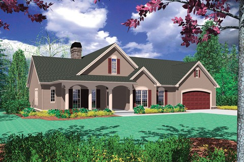 Image for Riverton-Vaulted Ceiling and Extra Garage Space-151