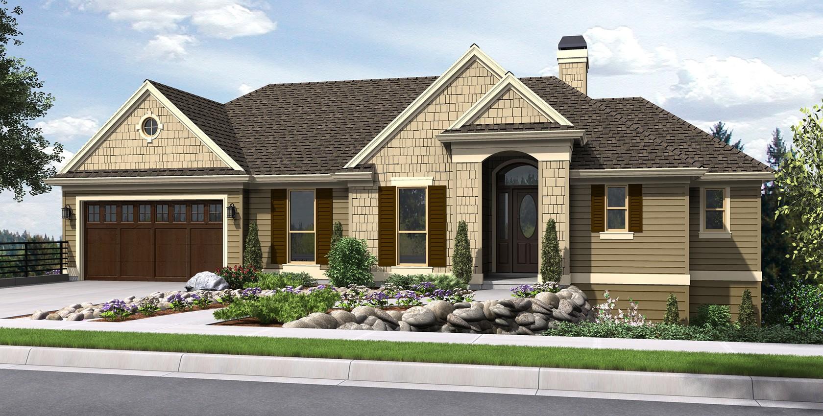Mascord House Plan 1144EA