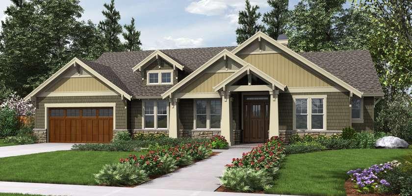 Mascord House Plan 1144EB: The Umatilla