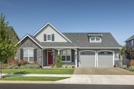 Front Exterior of Mascord House Plan 1146 - The Godfrey