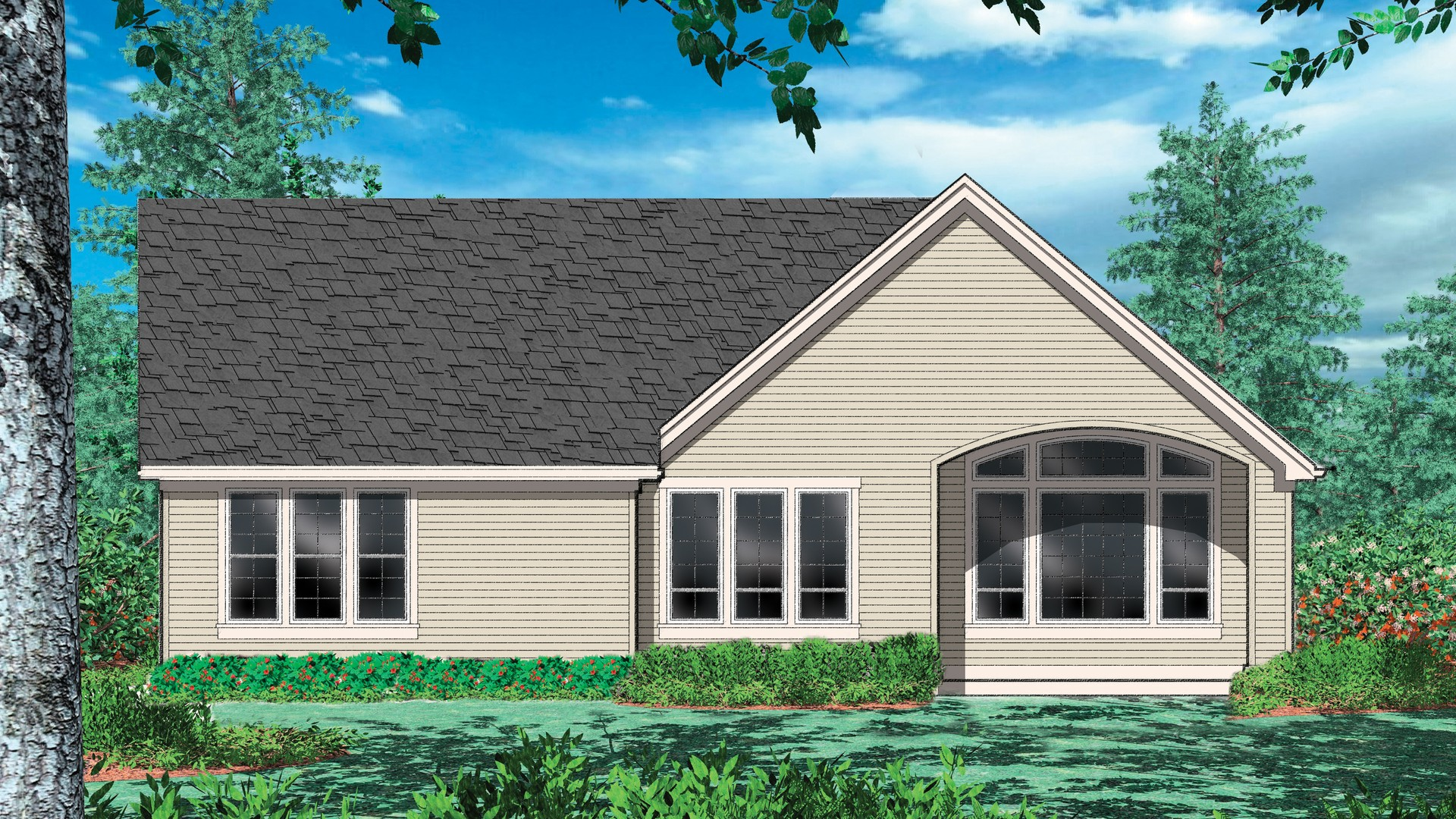 Cottage House Plan 1146 The Godfrey: 1580 Sqft, 3 Bedrooms, 2.1 ...