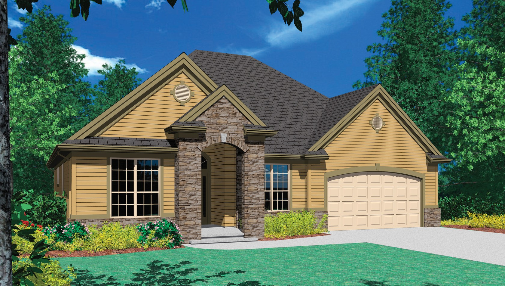 Main image for house plan B1146A: The