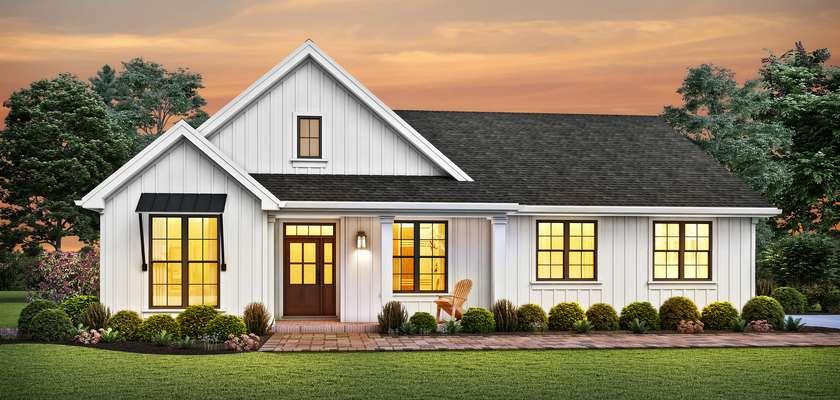 Mascord House Plan 1146K: The Elm Tree Farm
