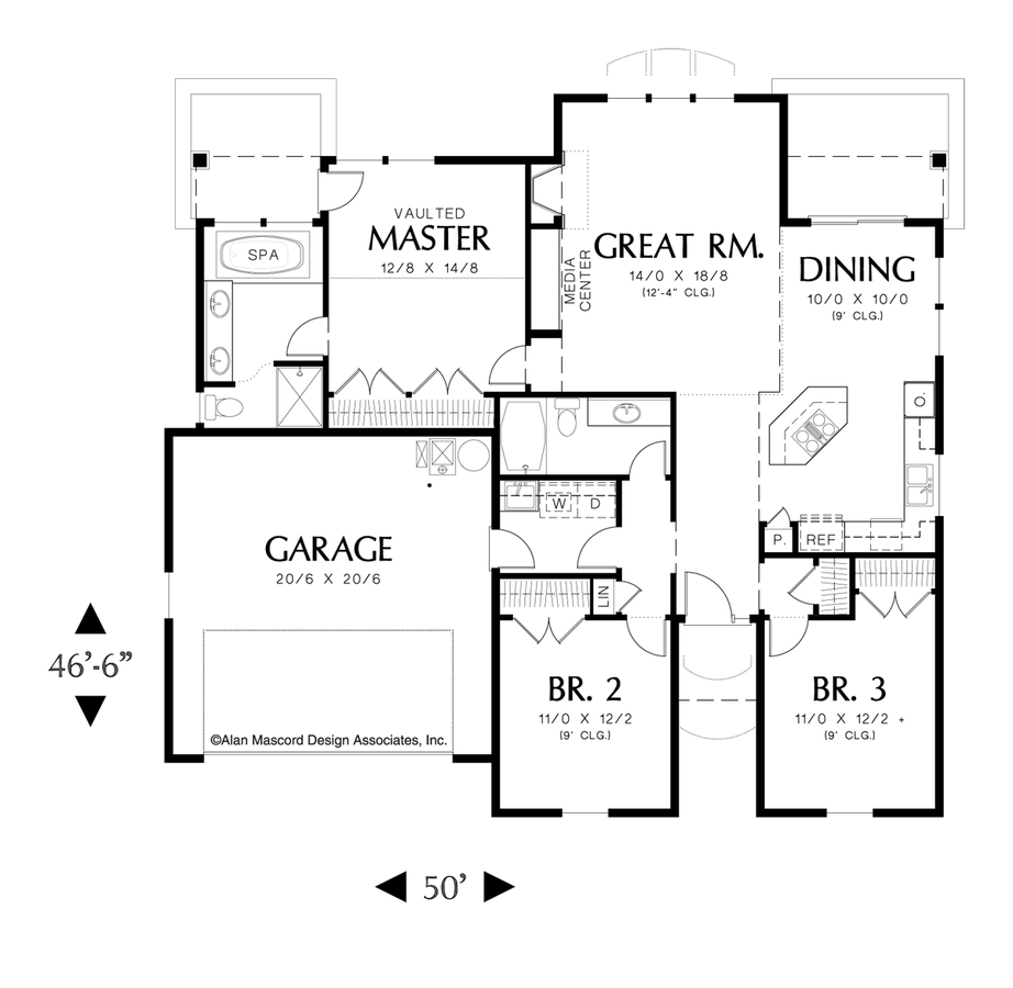 Starter home plans house plan 2017 for Starter home floor plans